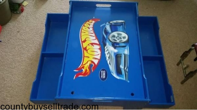 hot wheels play table with storage 2