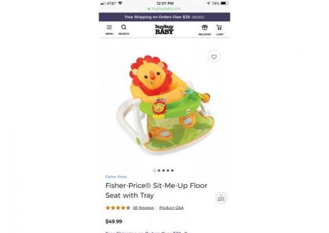 Fisher Price Sit Me Up Floorseat