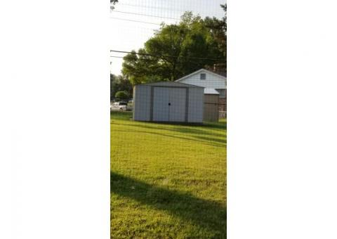 Free to good home - steel shed