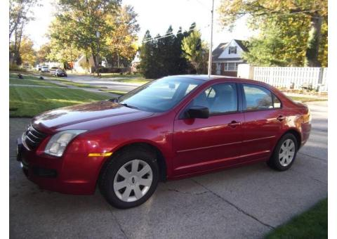 Mechanics Special 2007 Ford Fusion 4cyl S