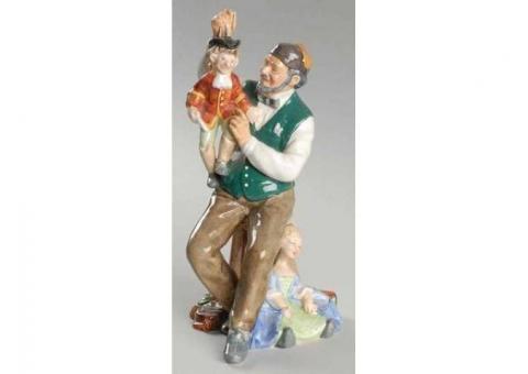 Royal Doulton's Puppetmaker HN2259