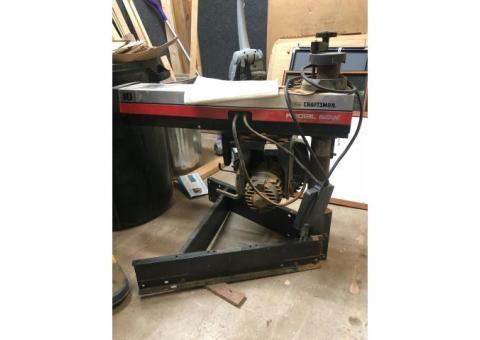Sears Craftsman Radial Arm Saw