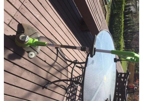 Greenworks corded edger/weeder